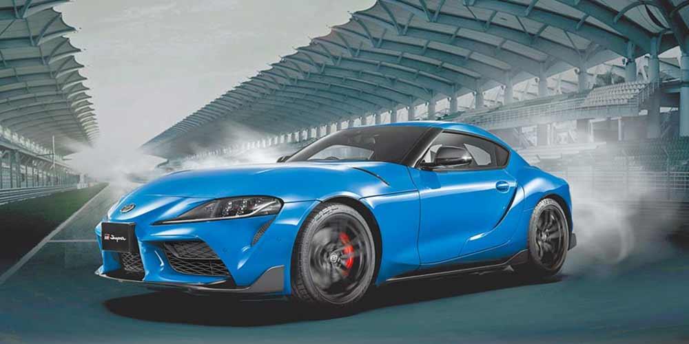 TOYOTA GR SUPRA 3.0T炫魅獨藏版售價252萬元。圖/和泰汽車提供